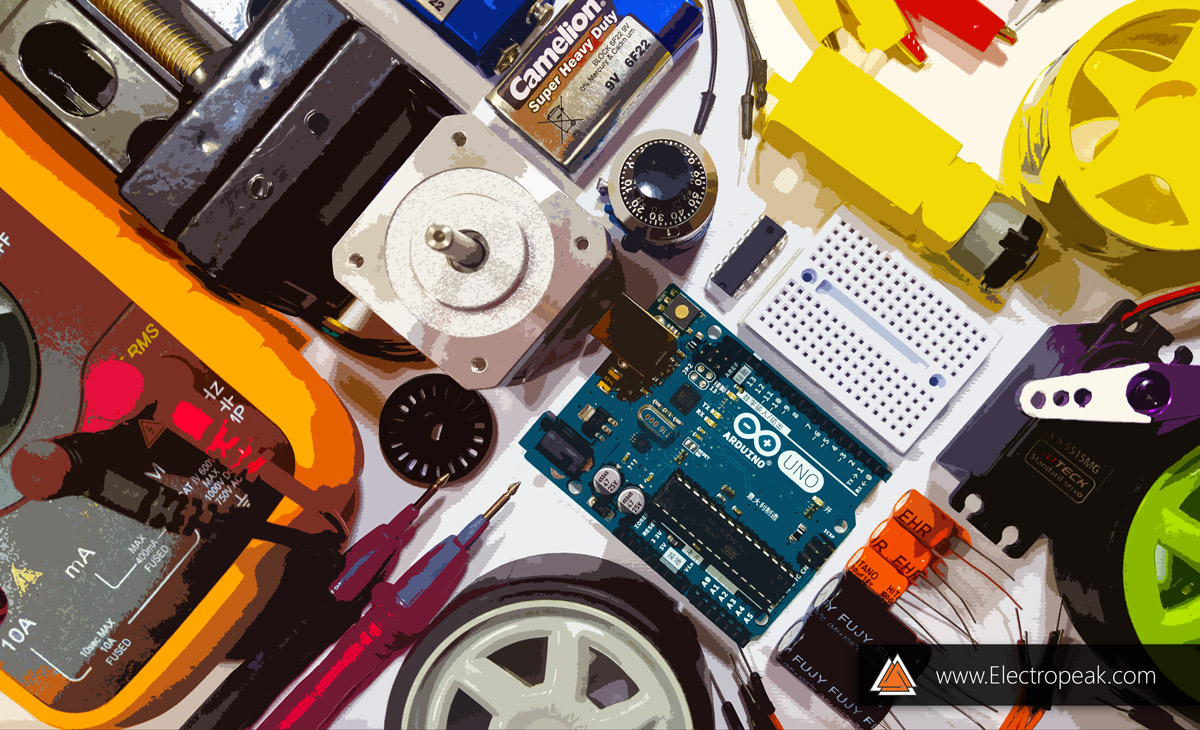 The Beginners Guide To Control Motors By Arduino L293d Electropeak Begginers Wiring Diagrams Why