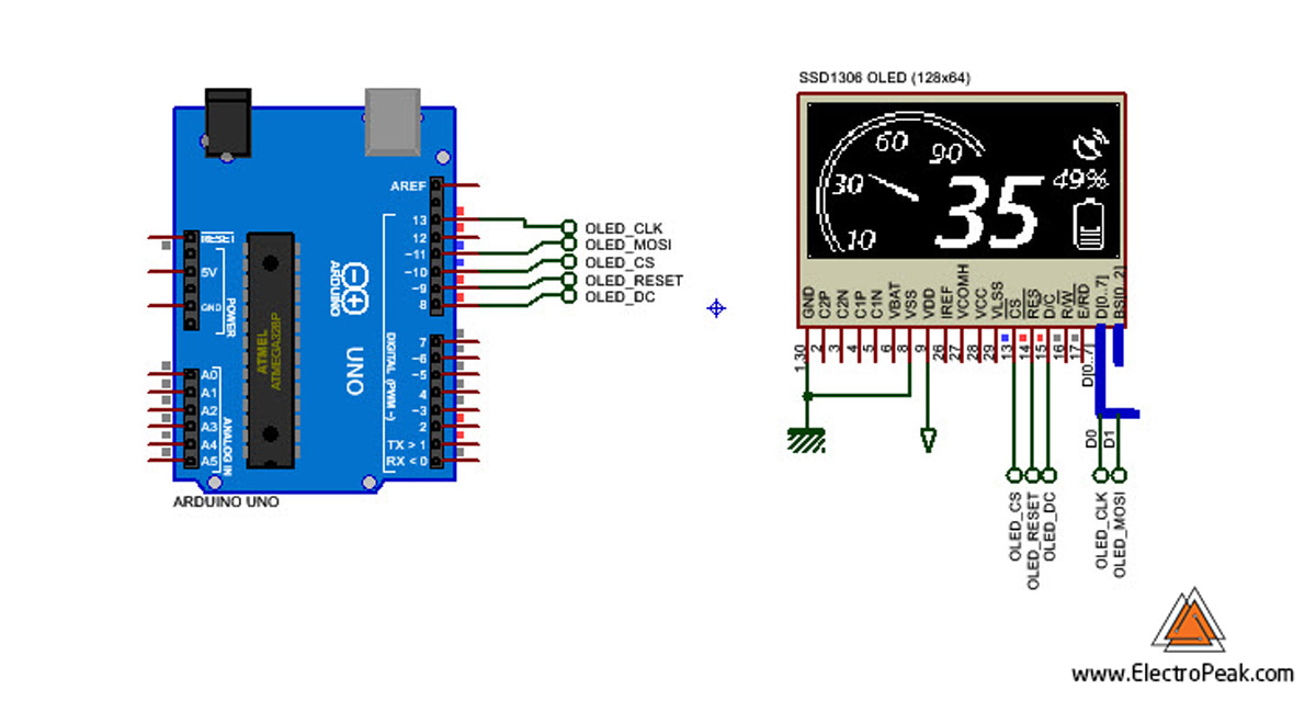 OLED w/ Arduino: How to Display Text, Image & Animation on OLED