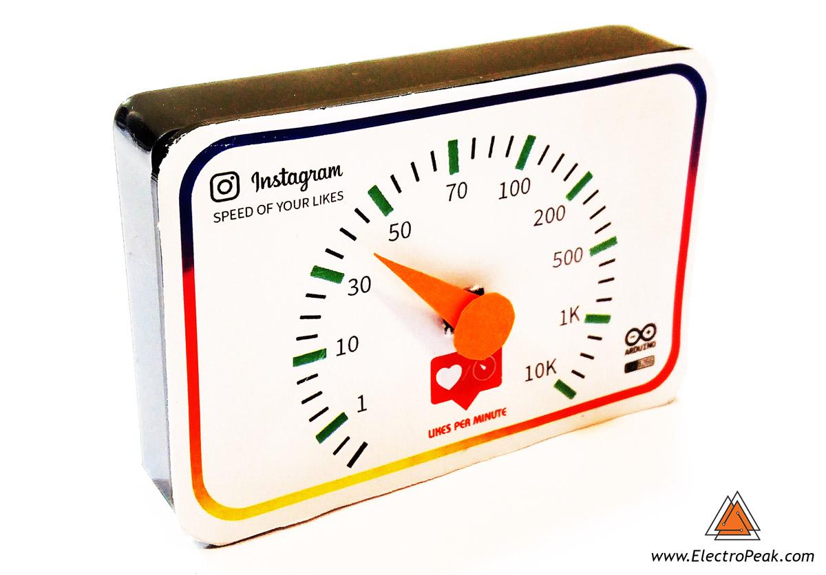 Speed of Instagram's Likes