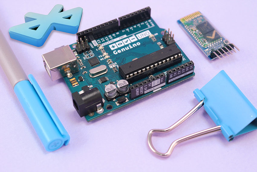 Getting Started with HC05 Bluetooth Module & Arduino