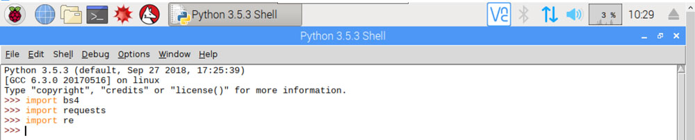 Basics of Web Scraping w/ Raspberry Pi & Python [w/ Sample