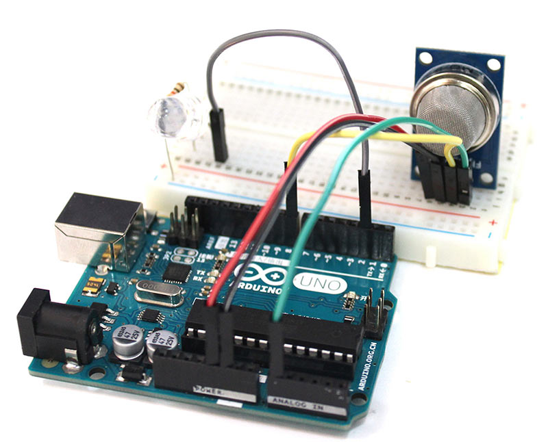How to Calibrate, Use, And Interface MQ9 Gas Sensor w/ Arduino