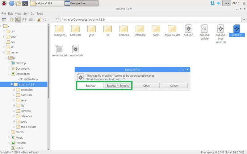 Install Arduino IDE on Raspberry Pi