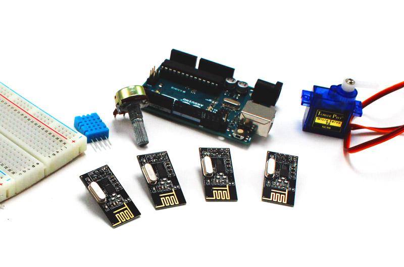nRF24L01 Interfacing with Arduino   Wireless Communication