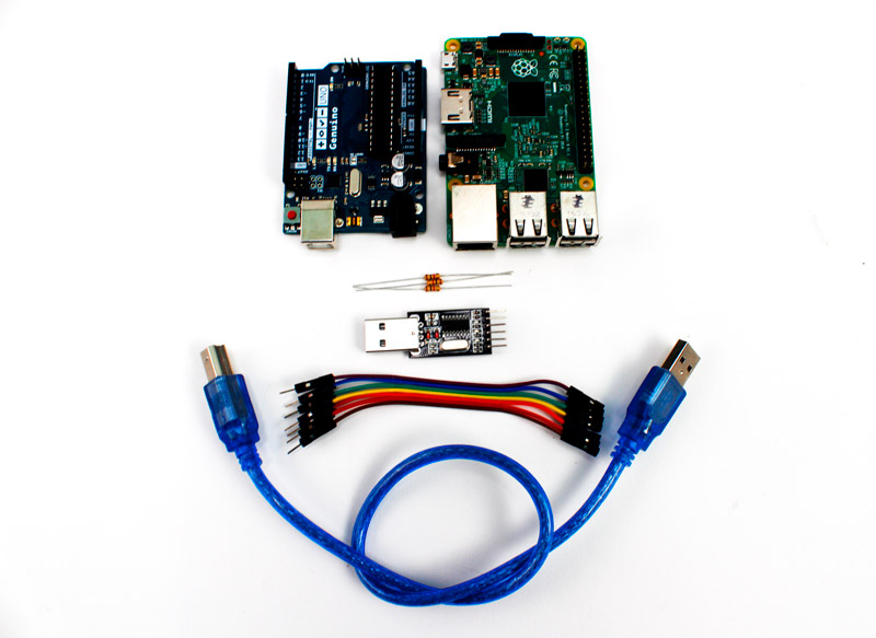 Raspberry Pi Serial Communication (UART) w/ Arduino & PC