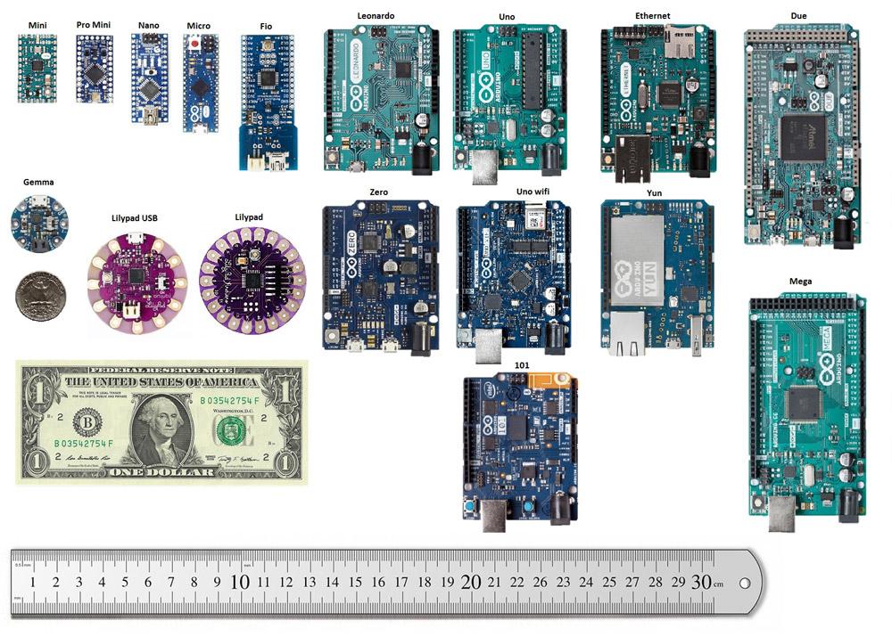 Arduino dimensions
