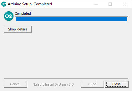 Install Arduino IDE windows step 4