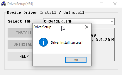 CH340 driver install on windows 2