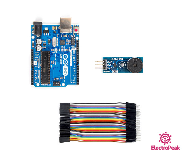 passive buzzer with arduino