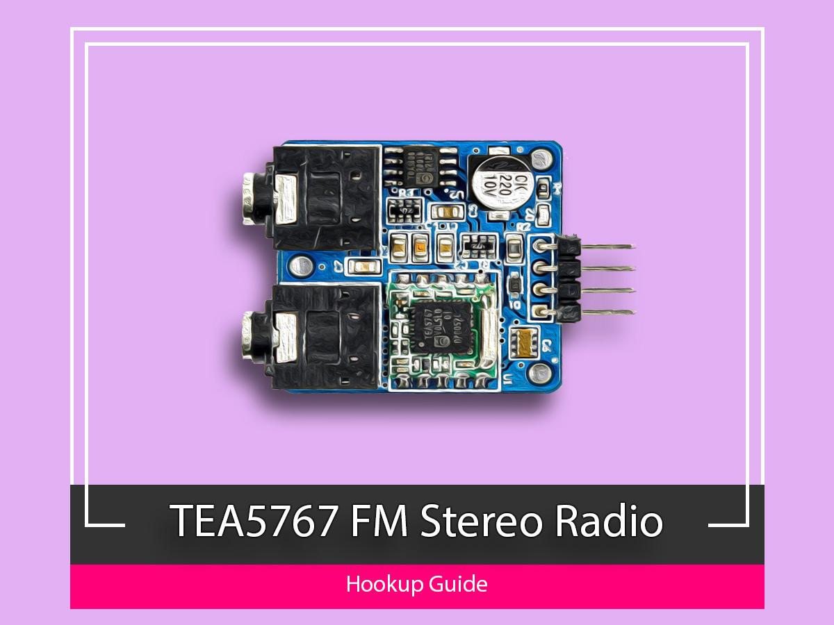 TEA5767, FM Radio , Arduino