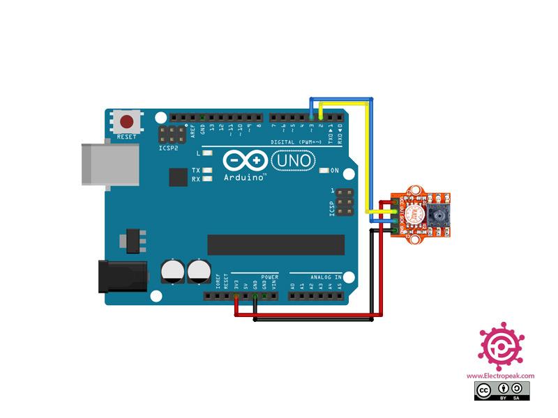 MPS20N0040D Module Arduino circuit