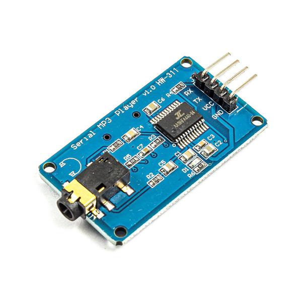 YX6300 Serial MP3 Module