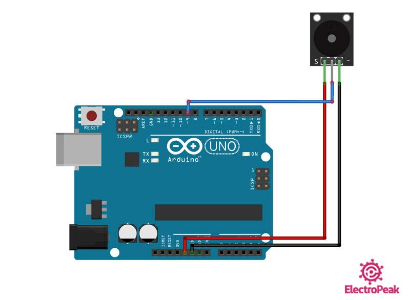 Active Buzzer Arduino Circuit