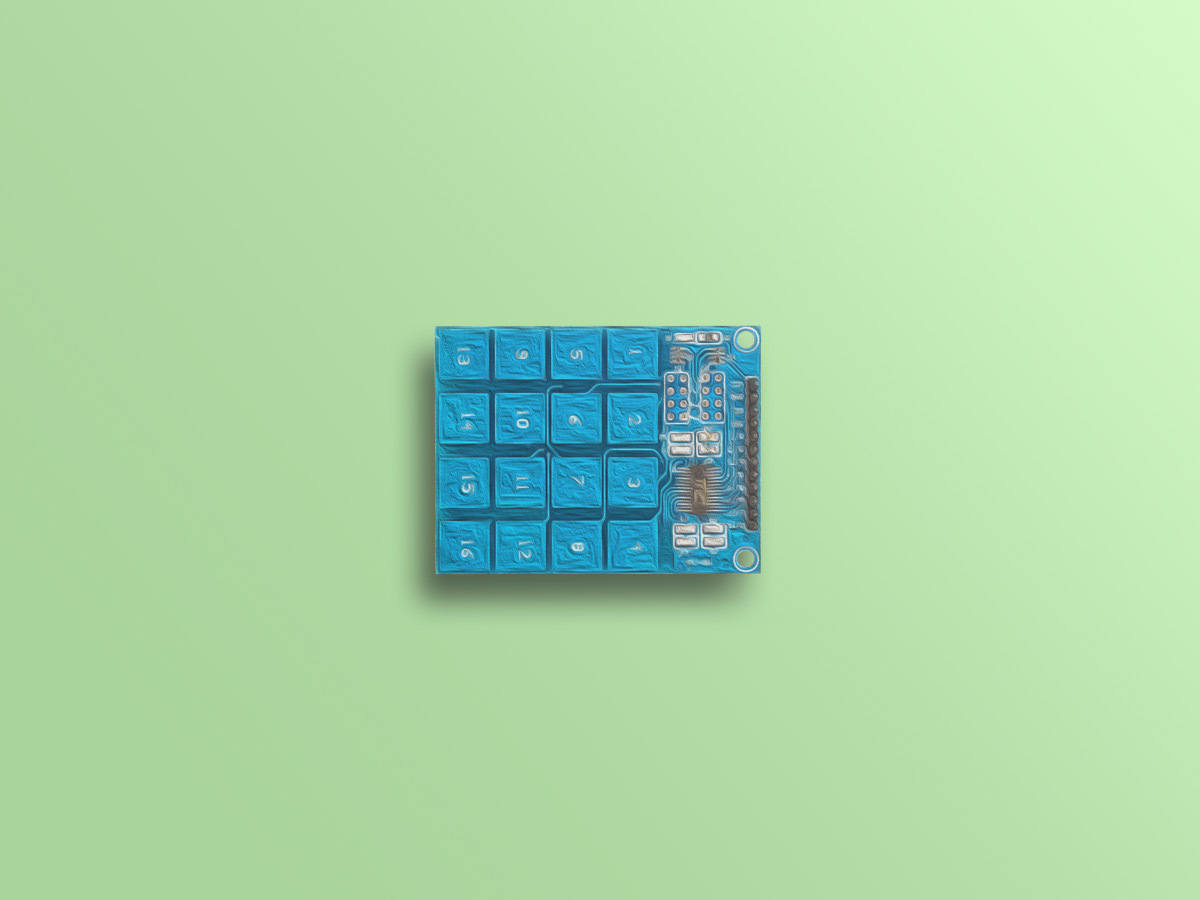 Interfacing TTP229 16 Key Capacitive Touch Keypad with Arduino