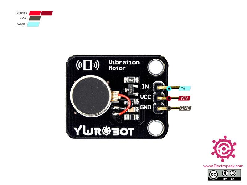 YwRobot Vibration Module Pinout