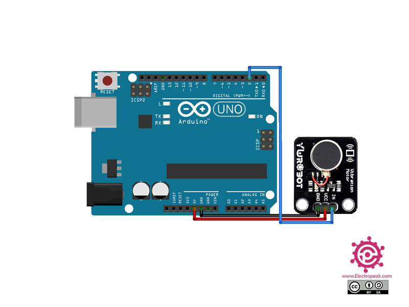 YWROBOT Module Arduino circuit