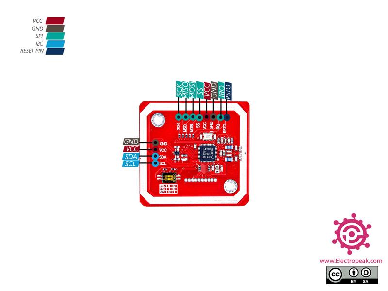 PN532 NFC RFID Module Pinout