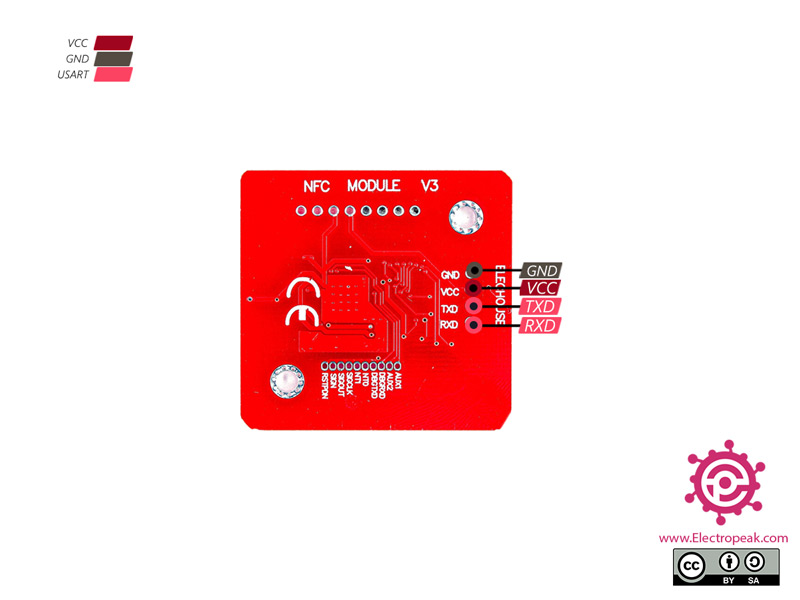PN532 NFC RFID Module Pinout 2