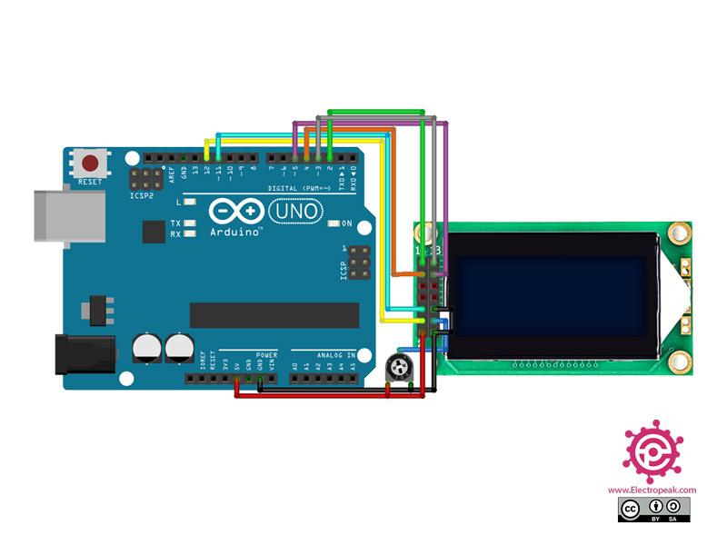 Module Arduino circuit