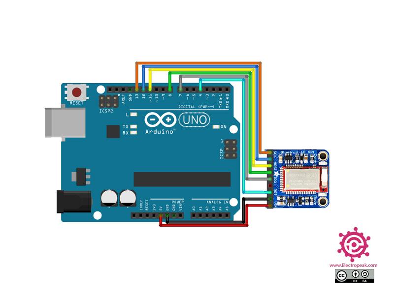 Adafruit Module Arduino circuit