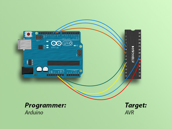 Use Arduino as ISP to Burn Bootloader on AVR Microcontrollers
