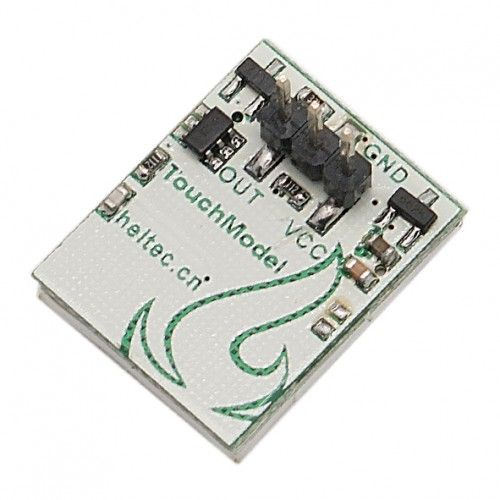 HTTM Series Capacitive Touch Switch Button Module - Blue