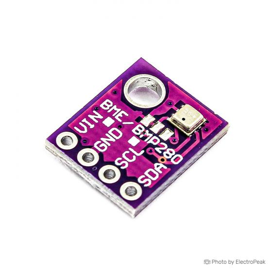 GY-BME280 Temperature, Humidity and Atmospheric Pressure Sensor Module